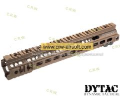DYTAC G Style SMR MK4 13inch Rail for Marui Profile (Dark Earth)